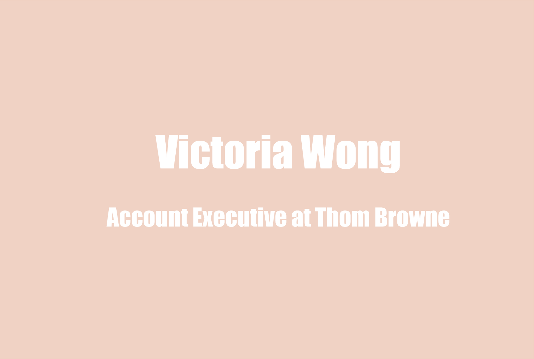 Victoria Wong on Self-Awareness, Work – Life Balance in the Fashion Industry, & Her Mental Health Journey with Food