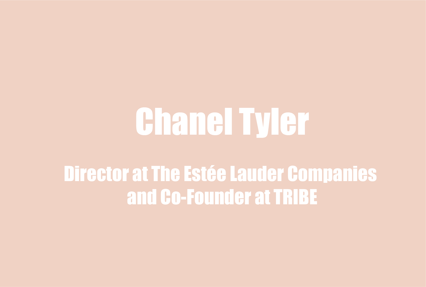 Chanel Tyler on Her Mental Health & Wellness Regimen, Diversity, Tokenizing the Black Community, and Communal Empowerment