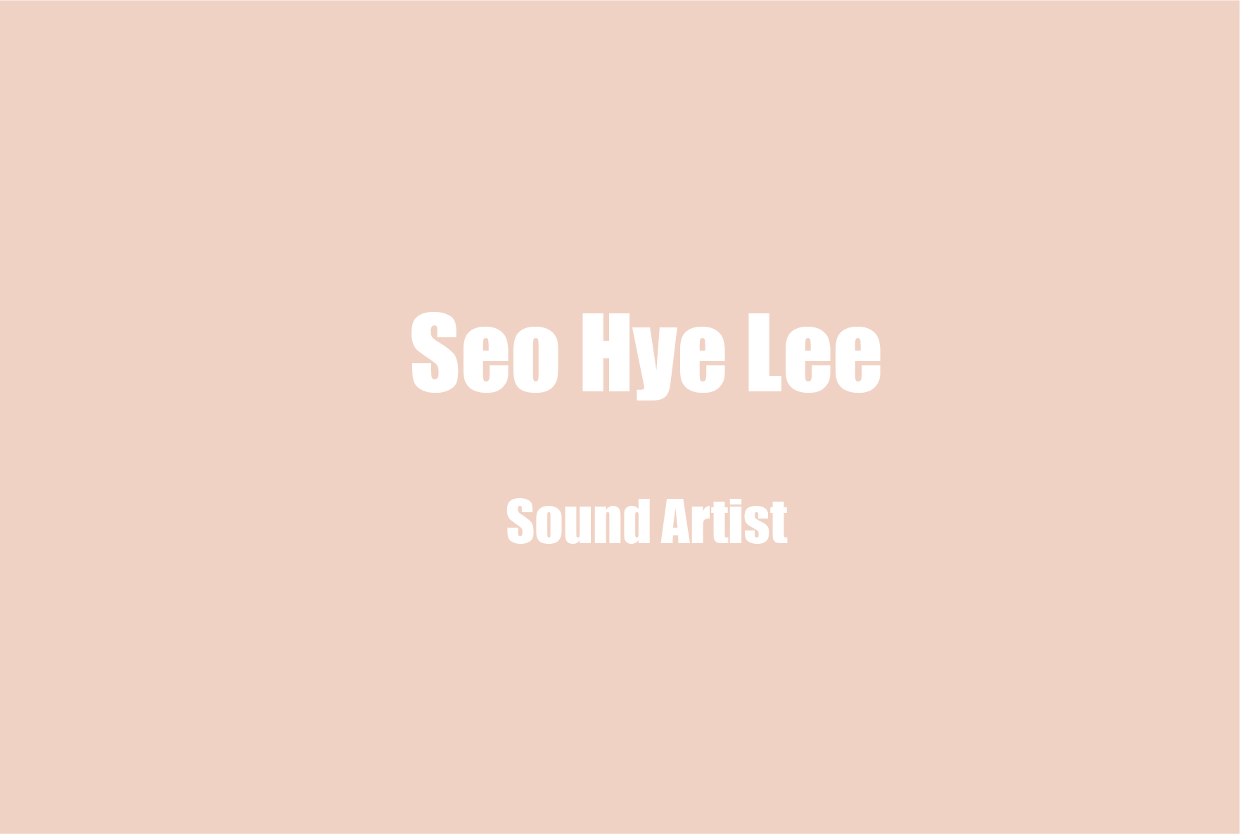 Introducing New Forms of Narrative: Berlin Based Artist Seo Hye Lee on Navigating Hearing Loss and Taking Inspiration from Her Unique Sonic Identity