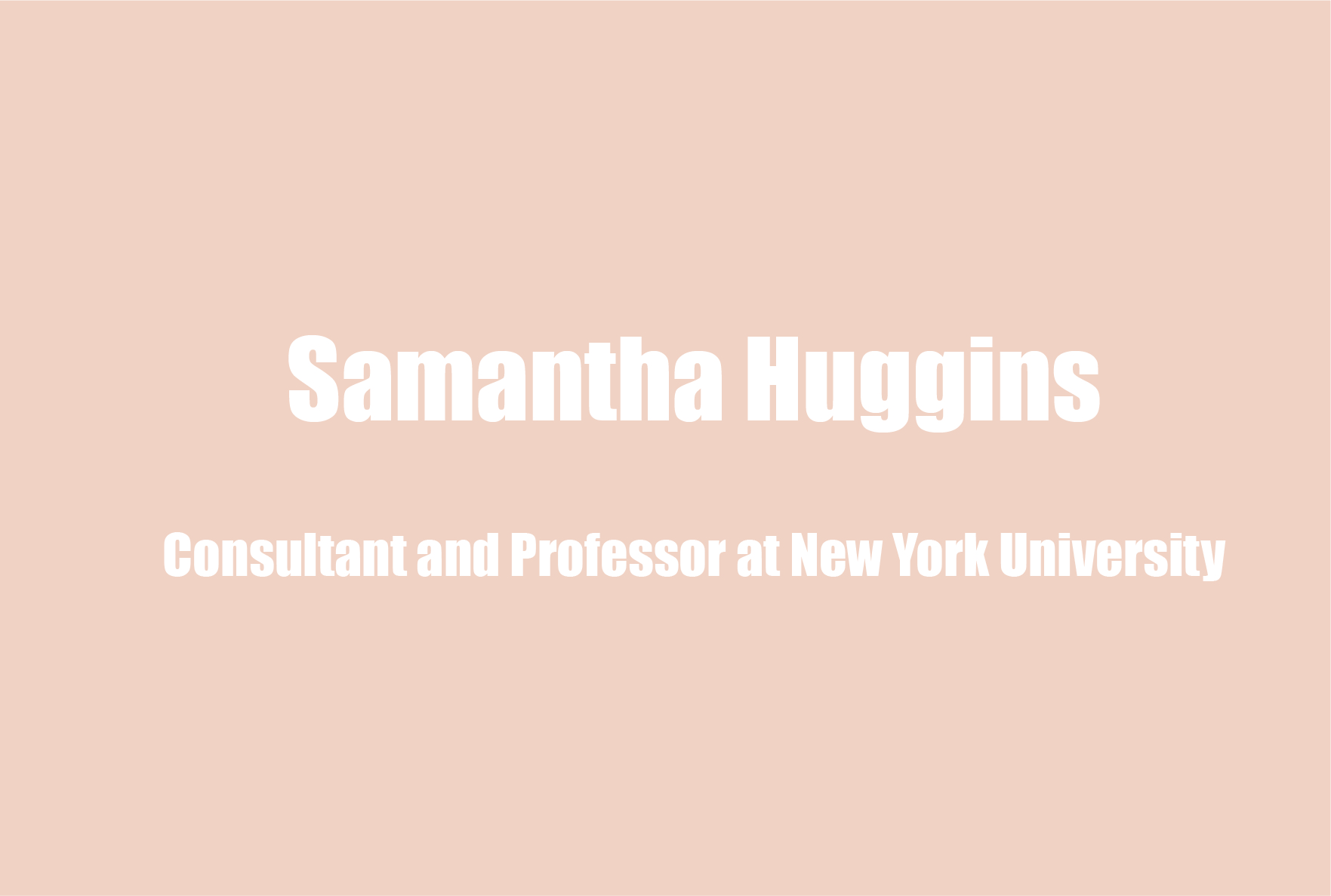 Samantha Huggins on Her Wellness Regimen, Openness Versus Vulnerability, and Mental Health in Schools