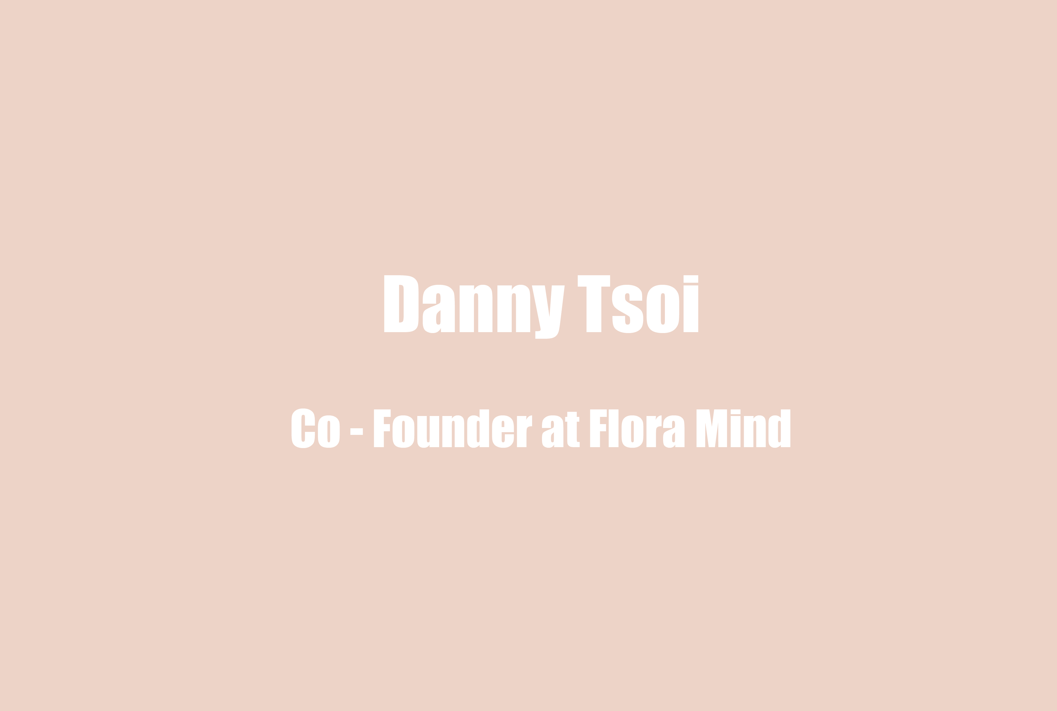 FloraMind Co-Founder Danny Tsoi on Teenage and Children Mental Health Support and Inspiration from the Hip-Hop Education Movement