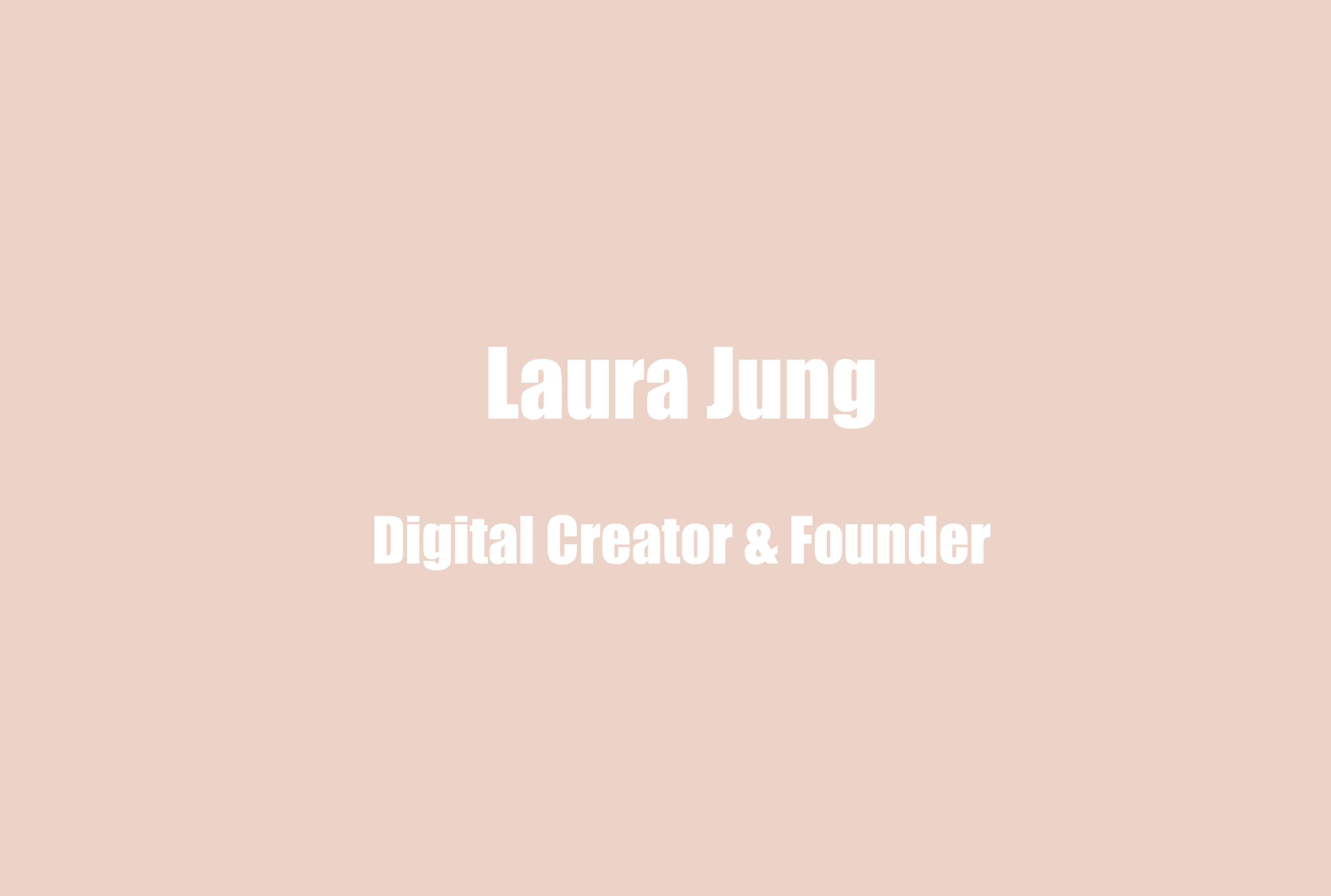 Digital Creator Laura Jung on Influencer Burnout and Finding Your Flow